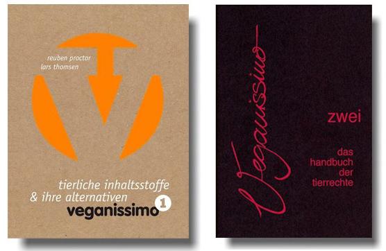 Abbildung der Buchcover von Veganissmo 1+2