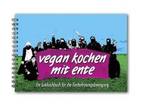 Cover des Kochbuchs 'Vegan kochen mit Ente'