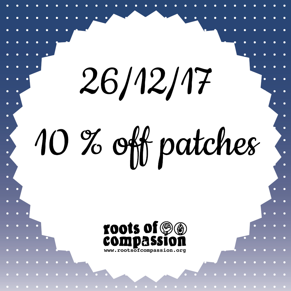 Today: 10 % off patches